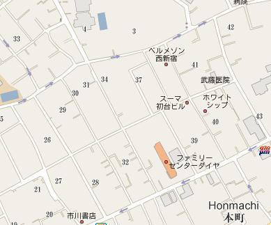 Japan city map