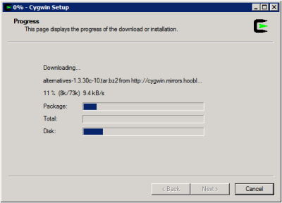Cygwin Setup - Download and Install